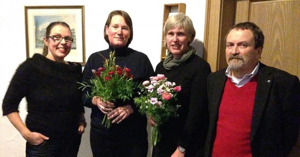 Wir verabschieden Dr. Gabriele Wiesemann und Silke Held und danken für die konstruktive und tatkräftige Mitarbeit.